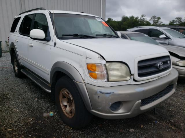Salvage 2001 TOYOTA SEQUOIA - Small image. Lot 52622691