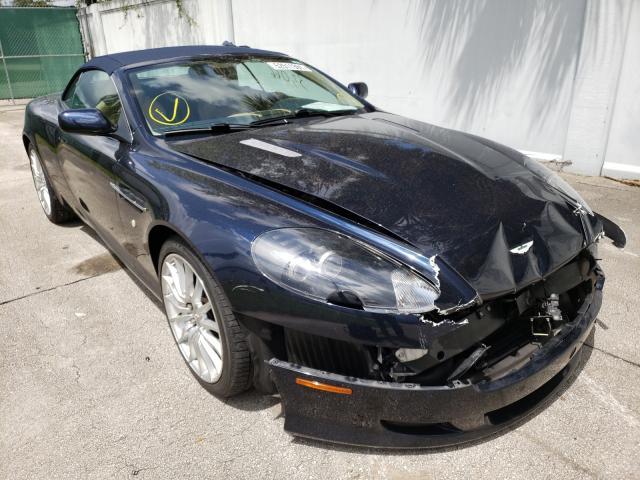 Aston Martin salvage cars for sale: 2007 Aston Martin DB9 Volant
