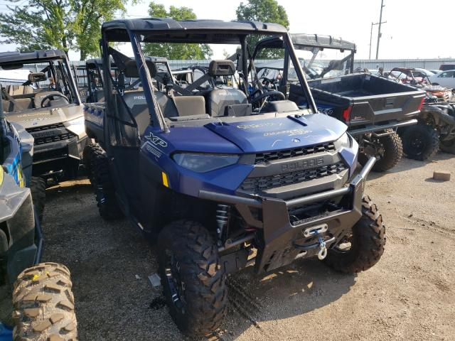 Salvage cars for sale from Copart Pekin, IL: 2021 Polaris Ranger XP