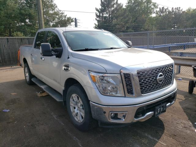 Salvage cars for sale from Copart Denver, CO: 2017 Nissan Titan SV