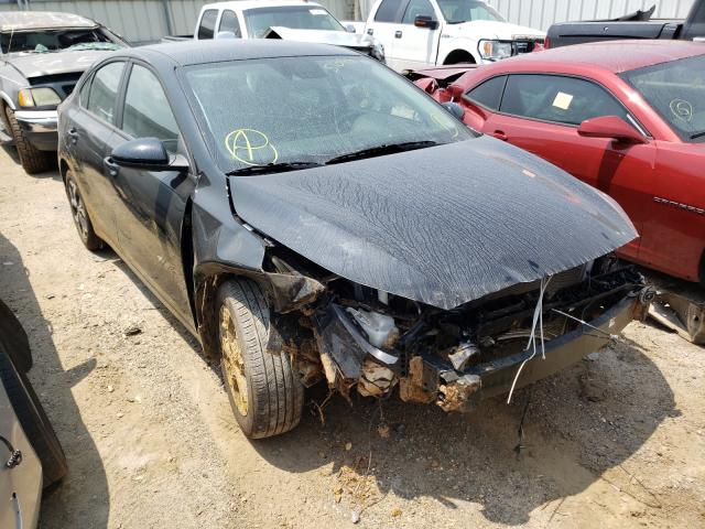 Salvage cars for sale from Copart Montgomery, AL: 2021 KIA Forte FE