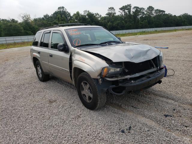 Chevrolet salvage cars for sale: 2002 Chevrolet Trailblazer