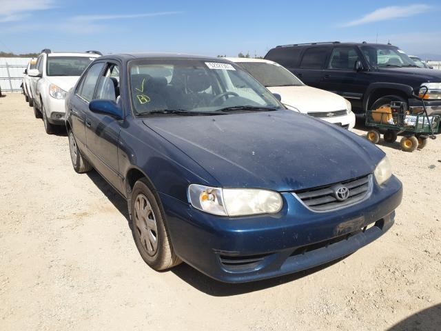 Salvage cars for sale from Copart Anderson, CA: 2001 Toyota Corolla CE