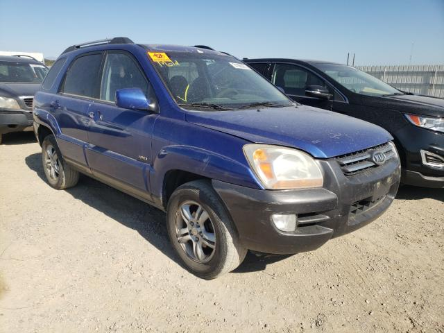 Salvage cars for sale from Copart Anderson, CA: 2006 KIA New Sporta
