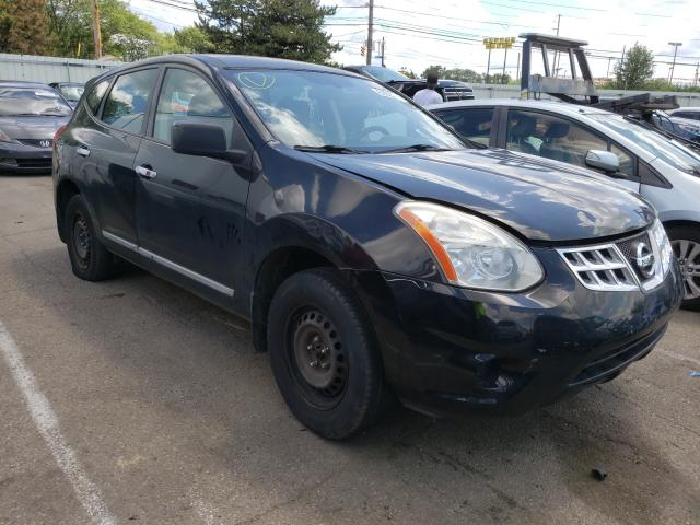 Salvage cars for sale from Copart Moraine, OH: 2013 Nissan Rogue S