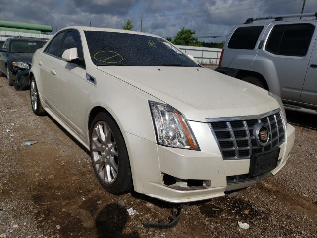 Salvage cars for sale from Copart Houston, TX: 2012 Cadillac CTS Premium