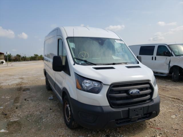 Salvage cars for sale from Copart San Antonio, TX: 2020 Ford Transit T
