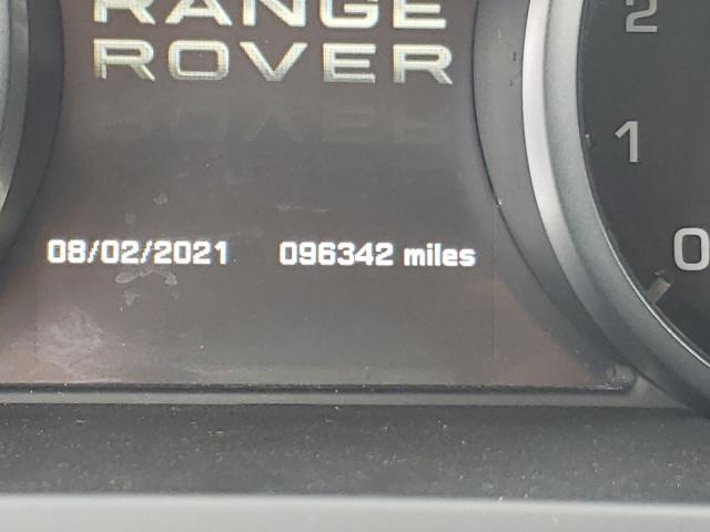 2012 LAND ROVER RANGE ROVE SALVR1BG6CH667178