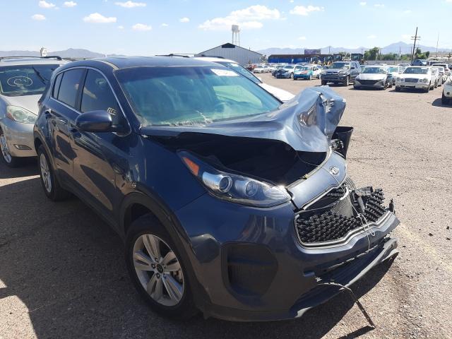 Salvage cars for sale from Copart Phoenix, AZ: 2019 KIA Sportage L