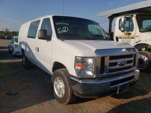 Salvage cars for sale from Copart Des Moines, IA: 2014 Ford Econoline