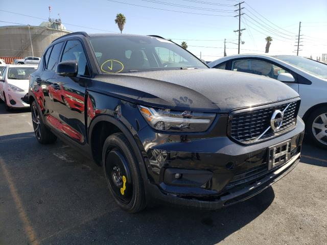 Salvage cars for sale from Copart Wilmington, CA: 2019 Volvo XC40 T5 MO