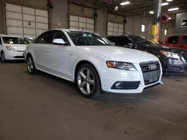 Salvage cars for sale from Copart Blaine, MN: 2012 Audi A4 Premium