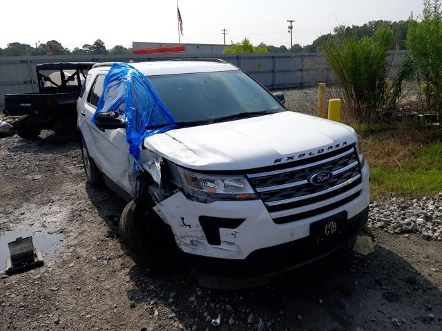 Ford Explorer salvage cars for sale: 2018 Ford Explorer
