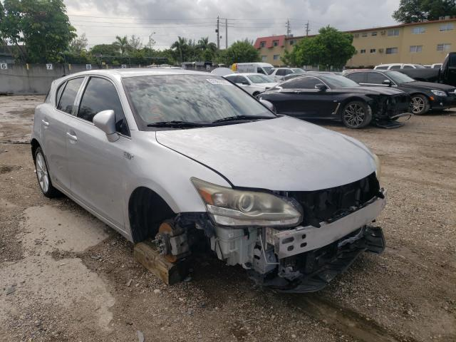 Salvage cars for sale from Copart Opa Locka, FL: 2011 Lexus CT 200