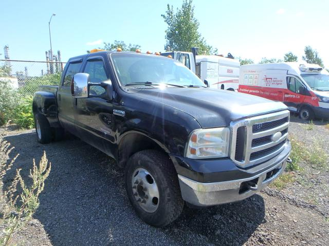 Salvage cars for sale from Copart Montreal Est, QC: 2005 Ford F350 Super
