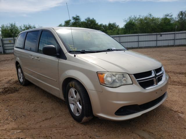 Salvage cars for sale at Mercedes, TX auction: 2013 Dodge Grand Caravan