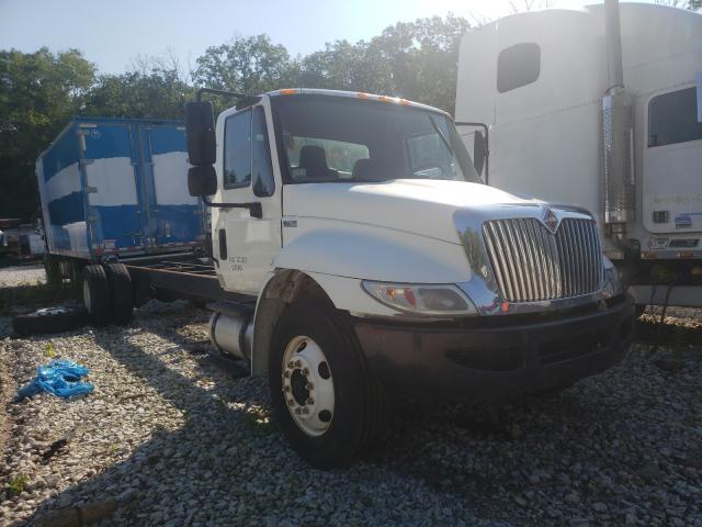 Salvage trucks for sale at Warren, MA auction: 2011 International 4000 4300