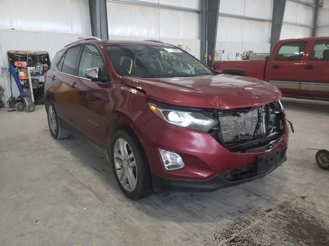 Salvage cars for sale from Copart Greenwood, NE: 2019 Chevrolet Equinox PR