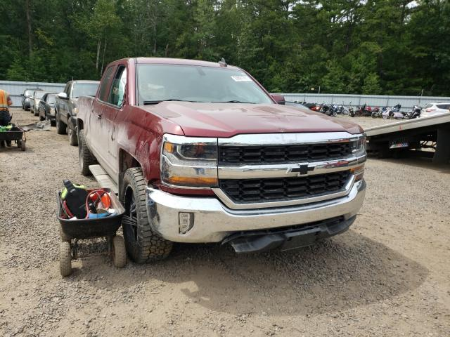 Salvage cars for sale from Copart Lyman, ME: 2016 Chevrolet Silverado