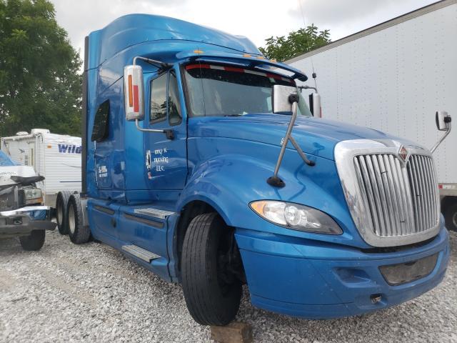 Salvage trucks for sale at Rogersville, MO auction: 2015 International Prostar