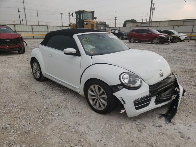 Salvage cars for sale from Copart Haslet, TX: 2017 Volkswagen Beetle S/S