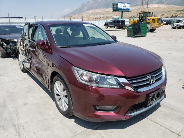 Salvage cars for sale from Copart Farr West, UT: 2013 Honda Accord EXL