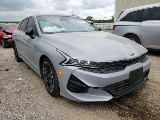 Salvage cars for sale from Copart Houston, TX: 2021 KIA K5 GT Line