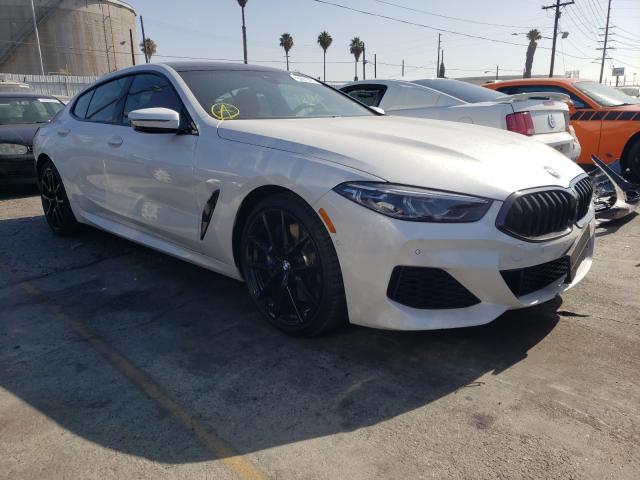 BMW Vehiculos salvage en venta: 2021 BMW 840I