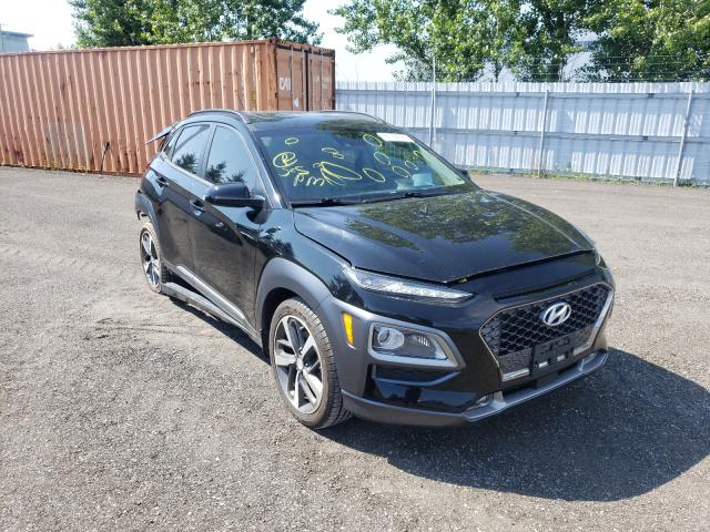 Salvage cars for sale from Copart Bowmanville, ON: 2018 Hyundai Kona Ultim