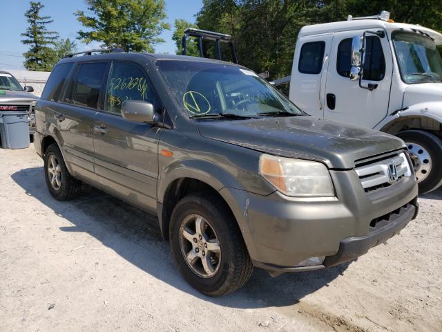 Vehiculos salvage en venta de Copart Northfield, OH: 2006 Honda Pilot EX