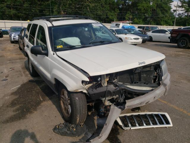 Salvage cars for sale at Eight Mile, AL auction: 2004 Jeep Grand Cherokee