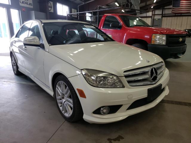 Salvage cars for sale at East Granby, CT auction: 2008 Mercedes-Benz C300