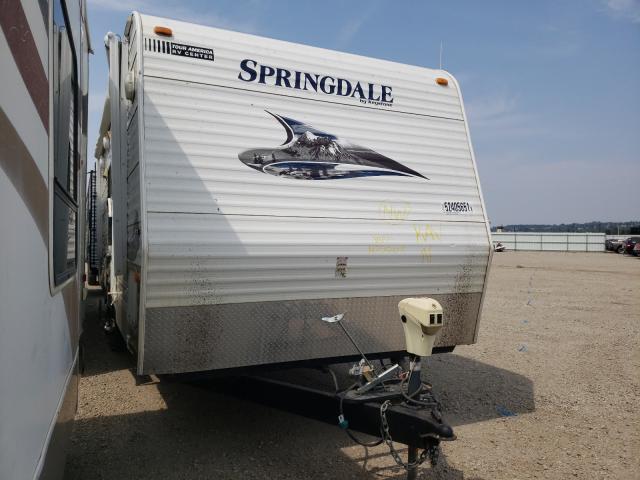 Springdale salvage cars for sale: 2011 Springdale Travel Trailer