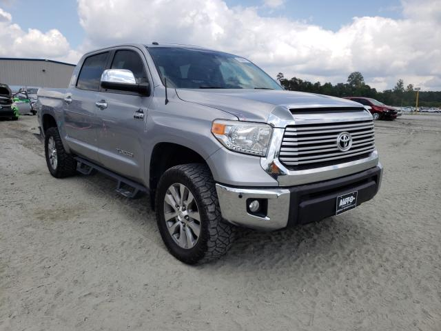 Salvage cars for sale from Copart Spartanburg, SC: 2015 Toyota Tundra CRE