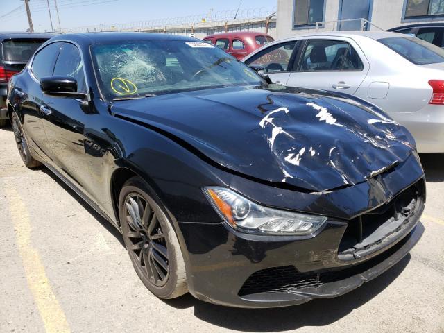 Maserati Ghibli S salvage cars for sale: 2016 Maserati Ghibli S