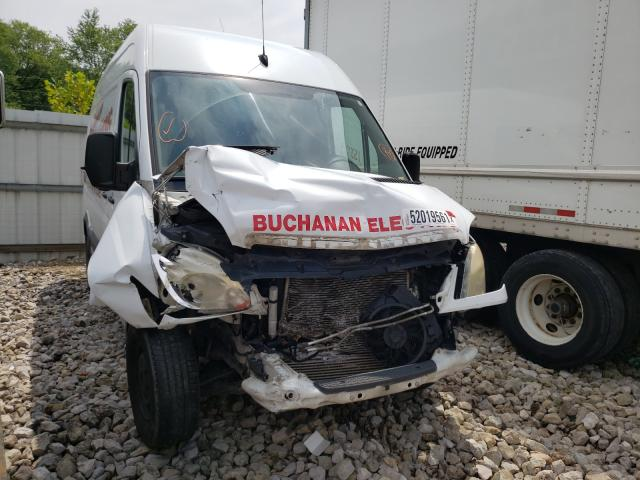 Salvage cars for sale from Copart Hurricane, WV: 2008 Dodge Sprinter 2