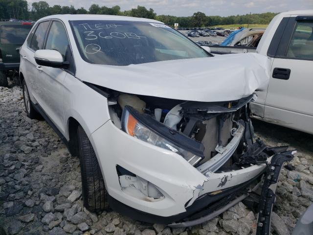 Vehiculos salvage en venta de Copart Loganville, GA: 2018 Ford Edge SEL