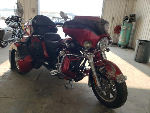 Salvage cars for sale from Copart Tulsa, OK: 2012 Harley-Davidson Flhtcutg T