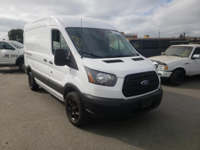 Salvage cars for sale from Copart San Martin, CA: 2019 Ford Transit T