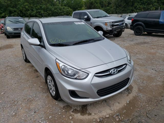 Vehiculos salvage en venta de Copart Oklahoma City, OK: 2017 Hyundai Accent SE