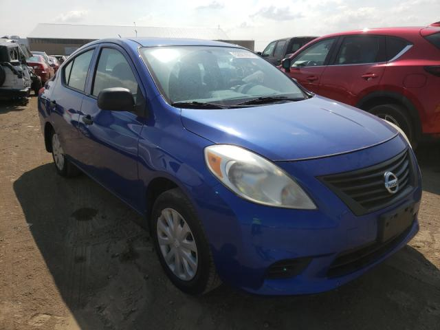 Salvage cars for sale from Copart Brighton, CO: 2012 Nissan Versa S