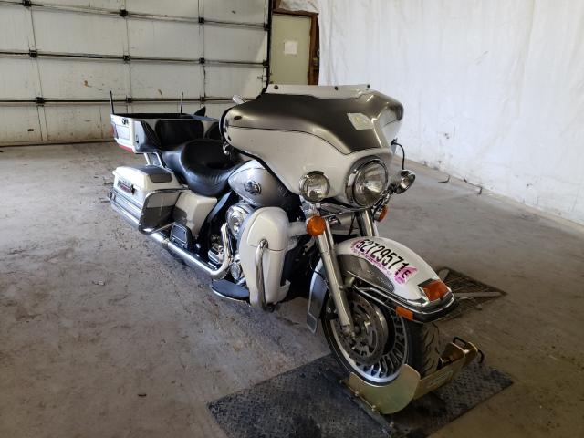 Salvage cars for sale from Copart Ebensburg, PA: 2009 Harley-Davidson Flhtcu