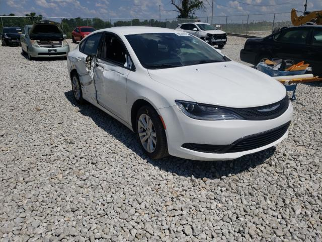Salvage cars for sale from Copart Cicero, IN: 2016 Chrysler 200 Limited