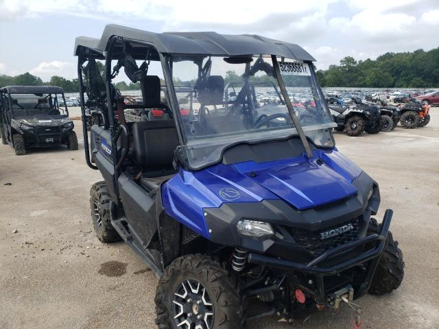 Salvage cars for sale from Copart Florence, MS: 2019 Honda SXS700 M4