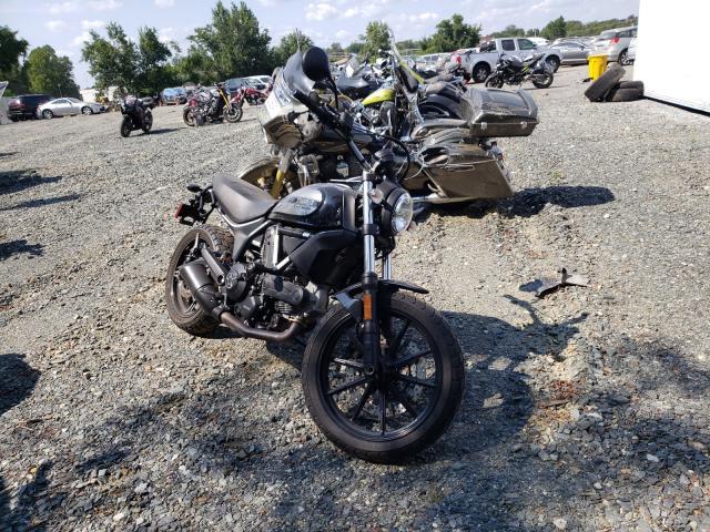 Ducati Scrambler salvage cars for sale: 2016 Ducati Scrambler