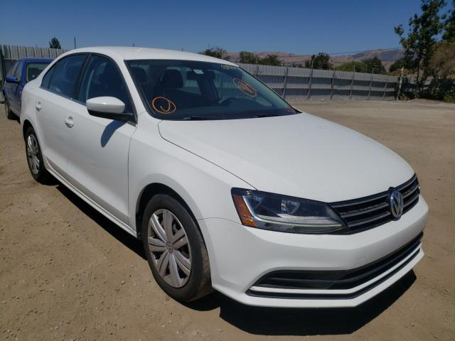 Salvage cars for sale from Copart San Martin, CA: 2017 Volkswagen Jetta S