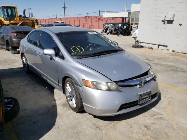 Salvage cars for sale from Copart Sun Valley, CA: 2008 Honda Civic LX