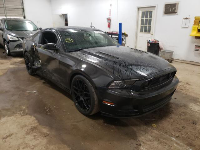 Salvage cars for sale from Copart Davison, MI: 2014 Ford Mustang GT