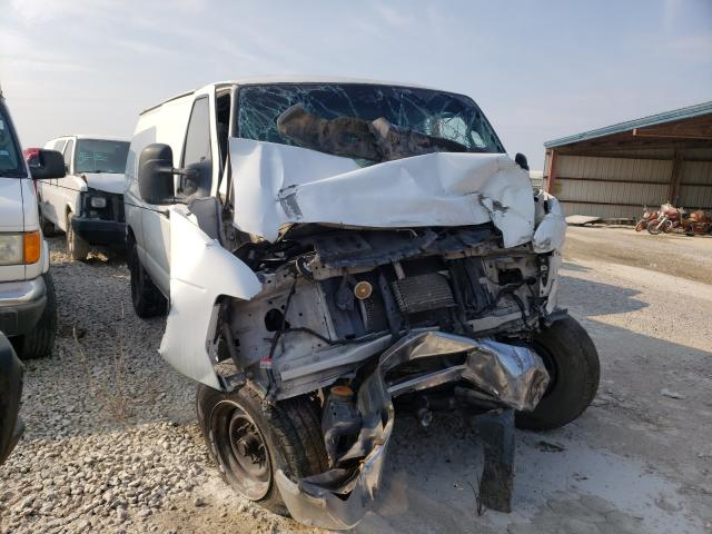 Salvage cars for sale from Copart Houston, TX: 2012 Ford Econoline