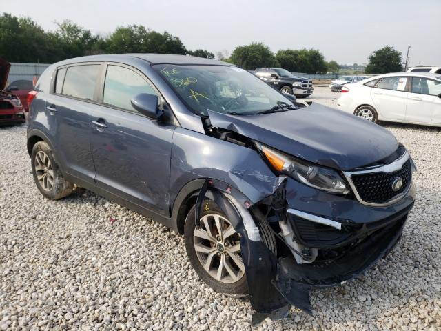 KIA Sportage salvage cars for sale: 2016 KIA Sportage